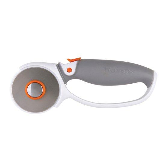 Soft grip loop rotary cutter