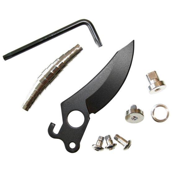 Blade, pivot screw, 3 adjustable screws and spring for pruner 111730