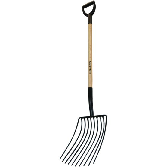 mulch fork soil care tools