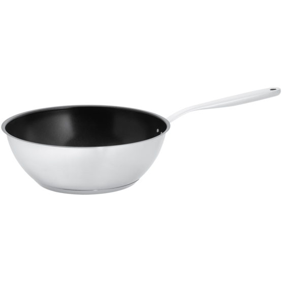 All Steel Wok 28cm