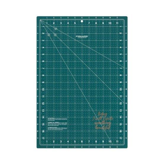 "Lia Griffith® Designer 12""x18"" Dark Teal Cutting Mat"