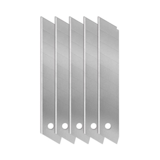 Snap off Utility knife 18 mm blades - 5pk