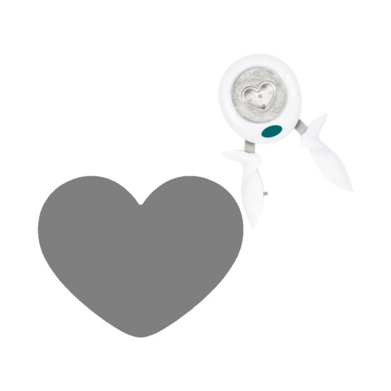Lia Griffith® Designer Squeeze Punch Large - Love Heart