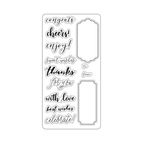 Lia Griffith® Designer 4x8 Stamps Gift Tag Creator