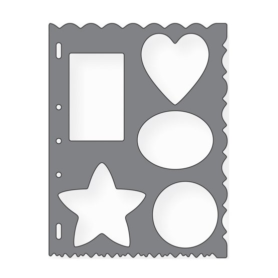 Assorted Shape Template