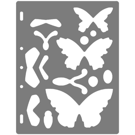 Shape Template™ - Butterfly 2
