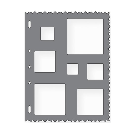 Squares Shape Template